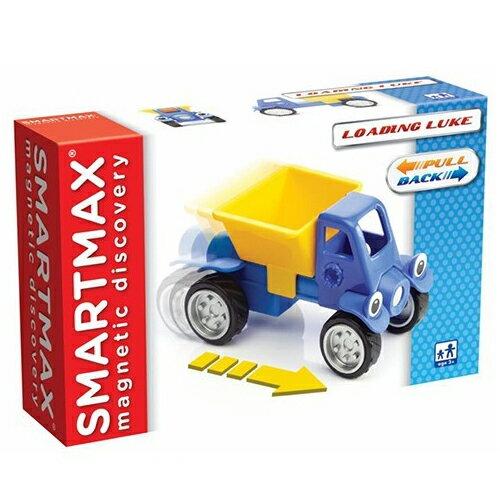 【比利時 SMARTMAX】寶寶磁力接接棒-迴力卡車 ACT06011