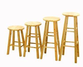 實木吧臺椅簡約高椅子吧臺凳前臺椅現代酒吧椅高腳凳橡木梯凳時尚