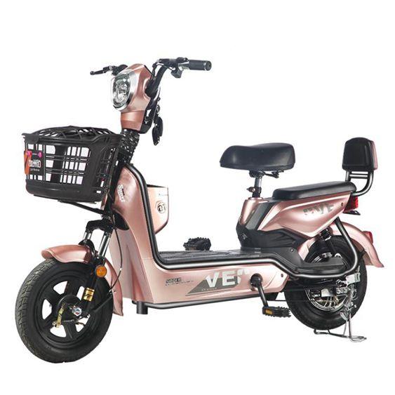 電動車 電動車新國標電瓶48V小型代步助力電單車女成人電動自行車  全館免運