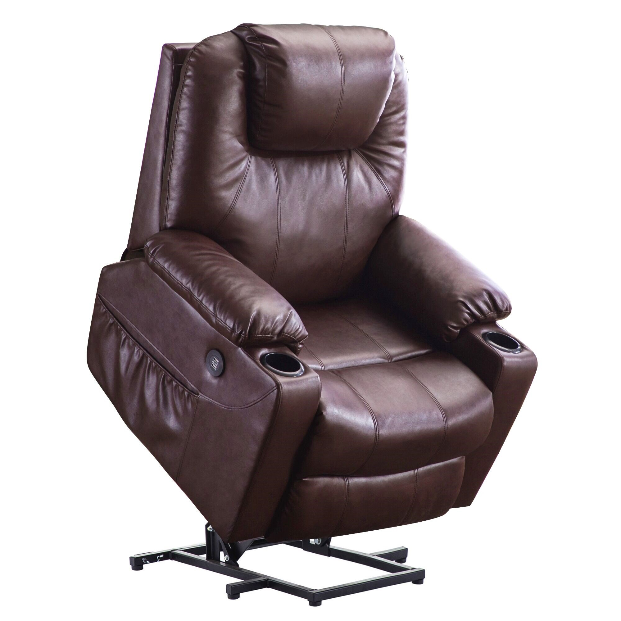 Brilliant Mcombo Electric Power Lift Recliner Massage Sofa Heated Chair Lounge W Remote Control Usb Charging Ports 7040 Machost Co Dining Chair Design Ideas Machostcouk