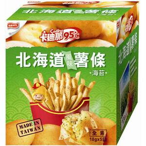 卡迪那 95℃北海道風味薯條-海苔 (18gX5袋)/盒