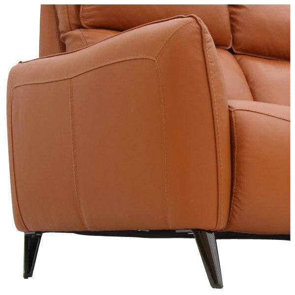 ◎(OUTLET)HTL高級全皮3人用沙發 H624 OR 福利品 NITORI宜得利家居 5