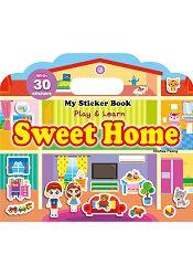 My Sticker Book –Sweet Home 手提貼紙書~~甜蜜的家 英文版