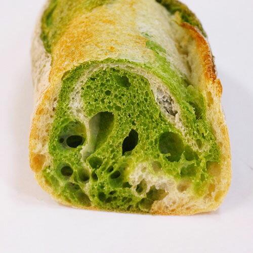 裕毛屋【抹茶法國麵包】(全素) 長棍麵包, 歐式麵包