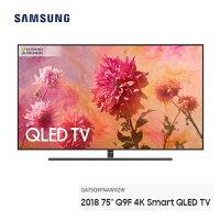Samsung 三星到【滿3千,15%點數回饋(1%=1元)】SAMSUNG 75型 Q9F 三星 4K Smart QLED 量子電視 QA75Q9FNAWXZW  (含基本安裝) 公司貨 免運費 12分期0% 變色龍系列