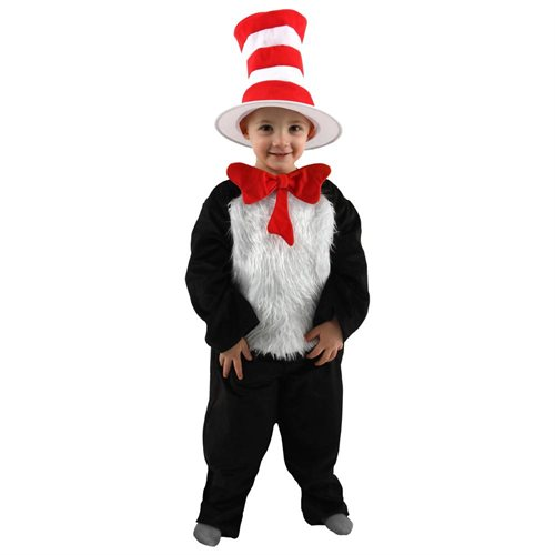 Dr. Seuss Cat in the Hat Toddler / Child Costume 0