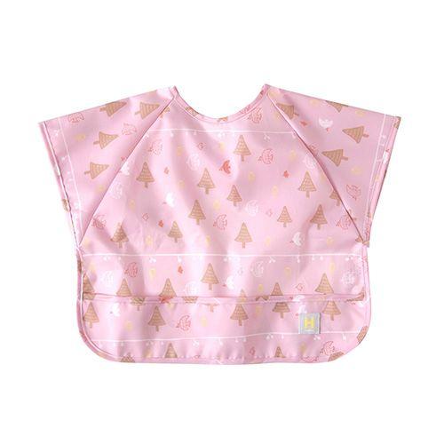 Hoppetta - 花語森林餐圍兜 (粉紅) 0
