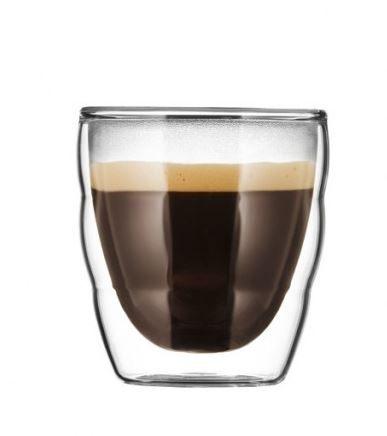 Bodum PILATUS雙層玻璃杯80CC-2入