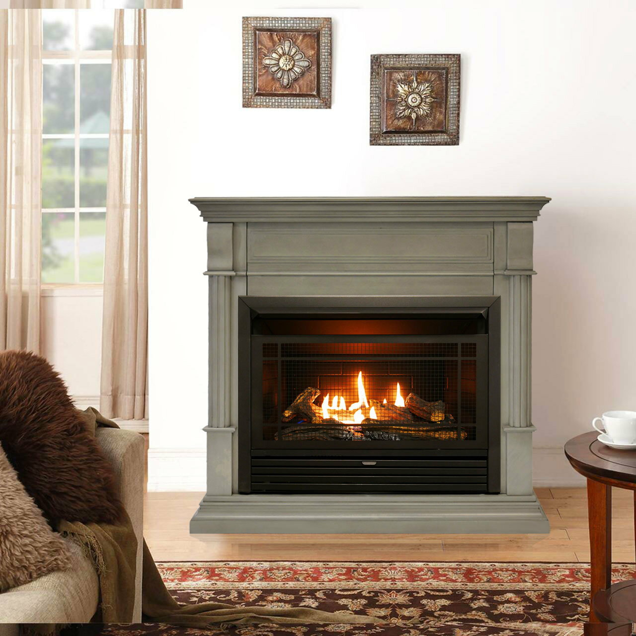 Factory Buys Direct Duluth Forge Dual Fuel Ventless Gas Fireplace