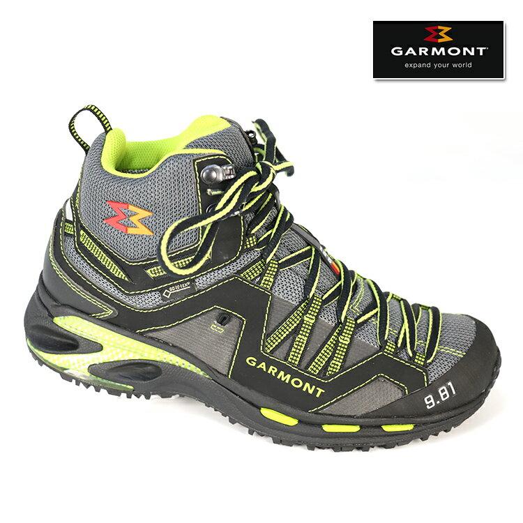 GARMONT GORE-TEX中筒越野慢跑鞋9.81 TRAIL PRO MID 481133/214 中性款 /城市綠洲(登山鞋 戶外 爬山 Goretex 越野)