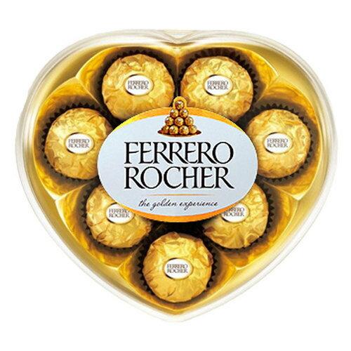 意大利 金莎 巧克力 心型禮盒 100g