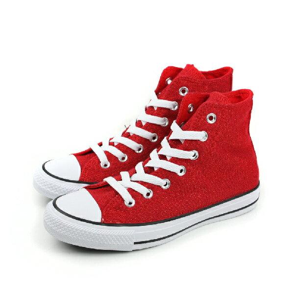 CONVERSE Chuck Taylor All Star Material 帆布鞋 紅 女款 549646C no193 0