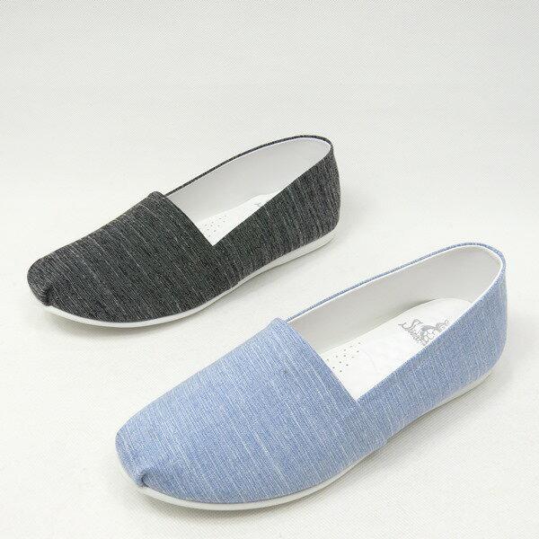 彩虹屋美鞋:*免運*經典時尚休閒帆布鞋*04-D838(藍黑)*[彩虹屋]*現+預