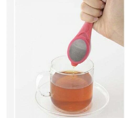 【預購】一個人品茗時光系列 - 桃紅色清新泡茶棒 (還有綠色款喔!) - 限時優惠好康折扣