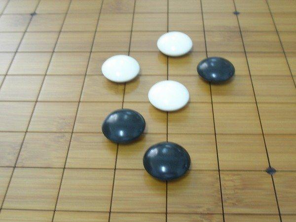 加重圍棋子霧面圍棋子(加鉛黑白子)MIT製一組入{促1500}21.5mmx10.5mm