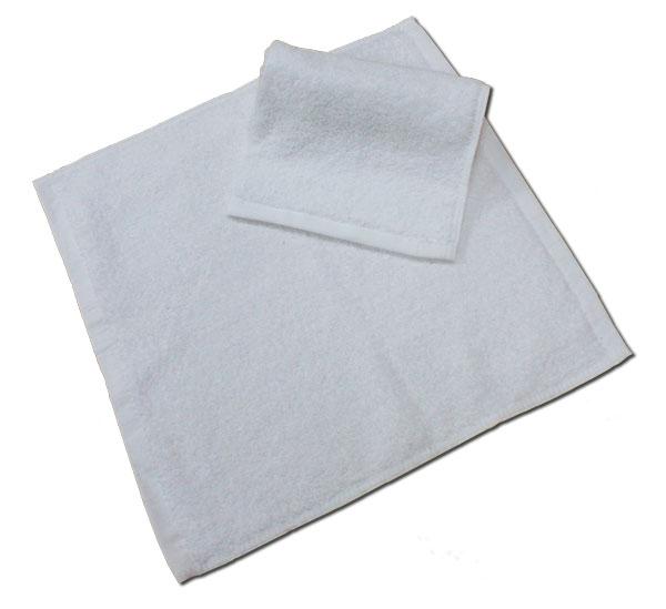 【FS0618】五星級飯店47g舒適純白方巾 1入/條