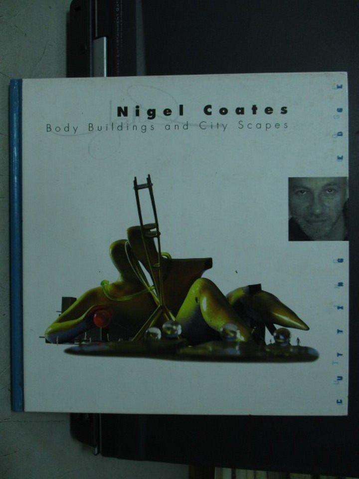 【書寶二手書T5/設計_LQZ】Nigel coafes_baby buildings and city
