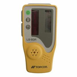 ㊣胡蜂正品㊣ TOPCON 紅光接收器 LS80A 含尺夾 雷射儀戶外接收器 水平儀配件 旋轉雷射接收器