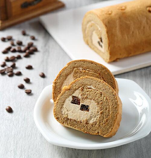 精緻手工蛋糕捲❤巴西咖啡凍捲❤【帕妃思手做烘焙坊】