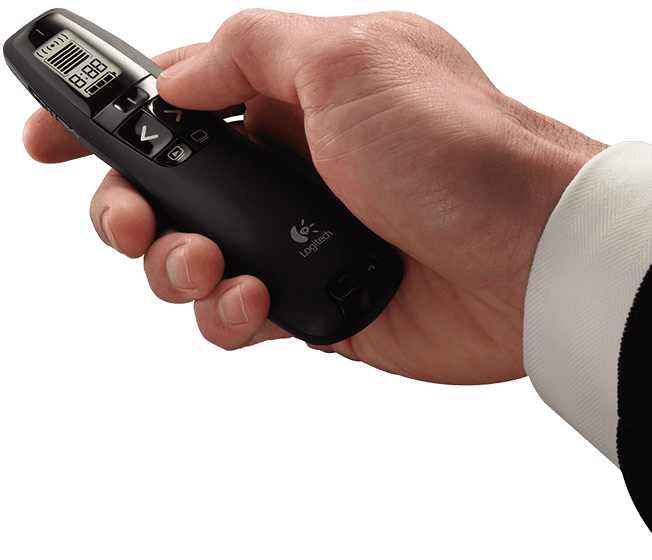 全新公司貨【迪特軍3C】羅技專業無線簡報器R800 / 羅技 R800 專業簡報器 30公尺接收距離/隨插即用/LCD螢幕