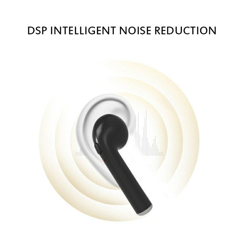 1 Pair Bluetooth 4.1 Wireless Bluetooth Headset In-ear Stereo Ear Buds Headset Earphone 7