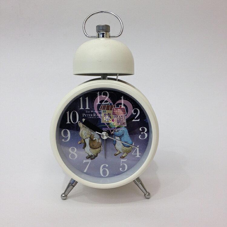 彼得兔單鈴鬧鐘-打雪杖