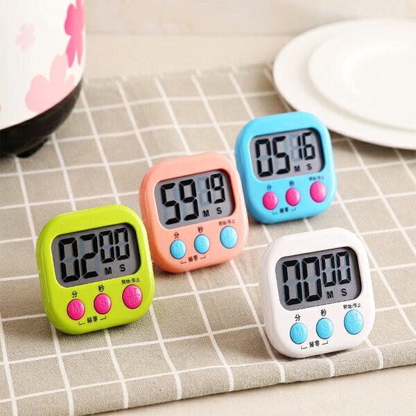 BO雜貨【SV9648】大螢幕電子計時器 料理烹飪 競賽 倒數計時 直播計時器 活動計時 碼表 立式 廚房定時器 大按鍵
