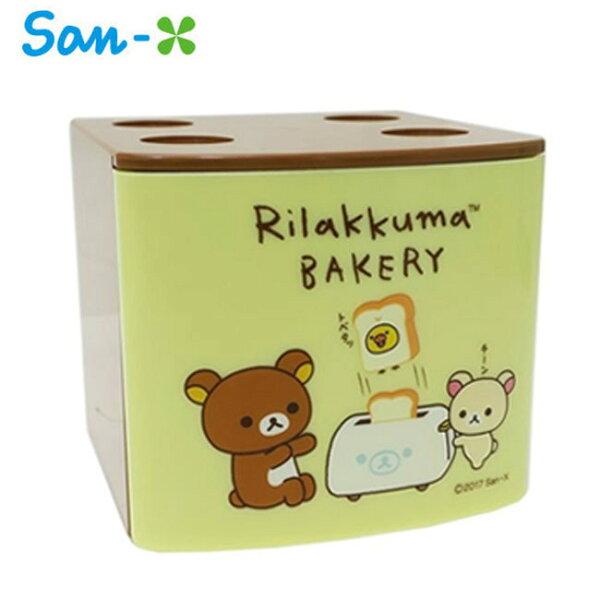 米黃款【日本正版】拉拉熊疊疊樂抽屜盒抽屜收納盒桌面收納懶懶熊RilakkumaSan-X-453640