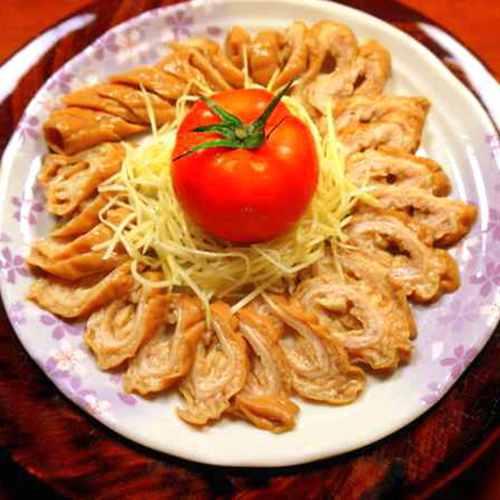〝 713厝〞滷大腸頭180克(2~3人份) -滷味 美食 消夜 聚餐 下酒菜 炒菜 火鍋料 麻辣火鍋料