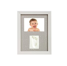 Adora珍愛回憶系列-寶寶手足模印相框(極簡壁掛型)【紫貝殼】