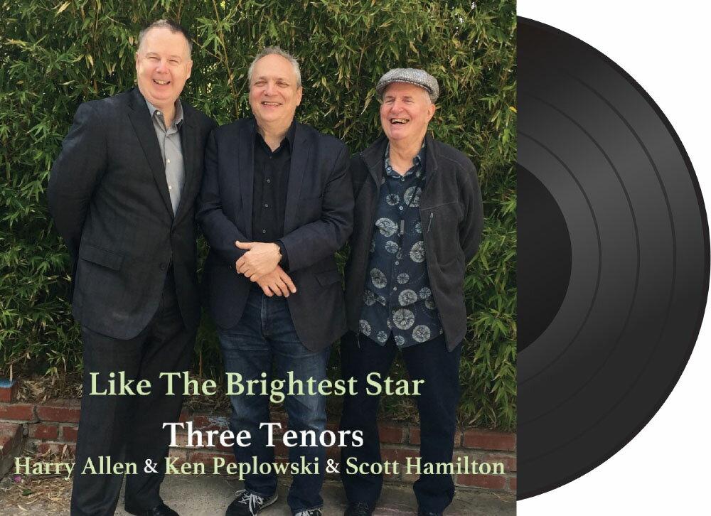 三大次中音薩克手:最閃亮的星 Three Tenors: Like The Brightest Star (Vinyl LP) 【Venus】 1