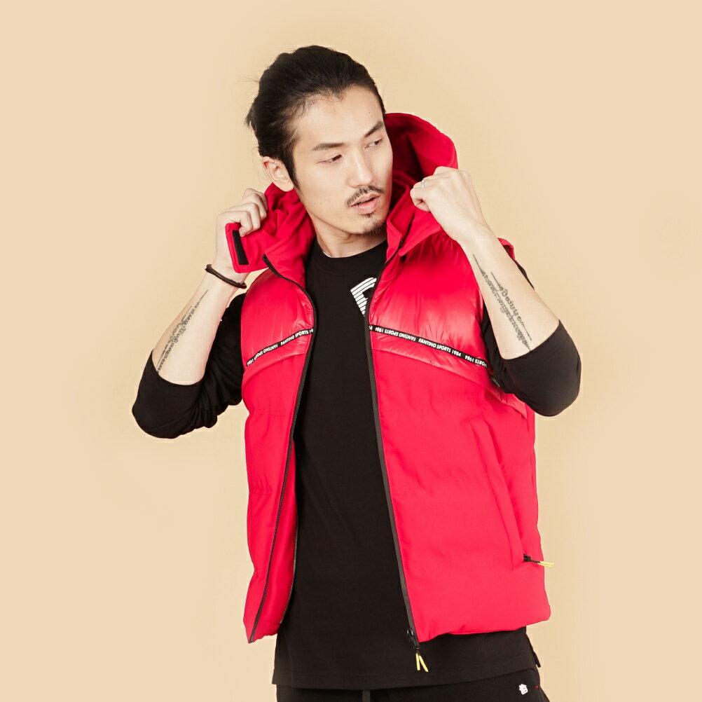 【FANTINO】背心(男)-紅 946309 4