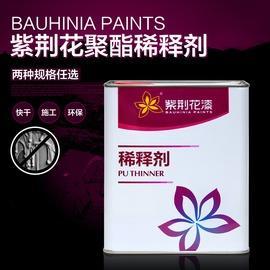 8kg聚酯稀釋劑紫荊花聚酯漆通用稀釋劑 PU漆 聚酯稀釋劑 2KG 8公斤