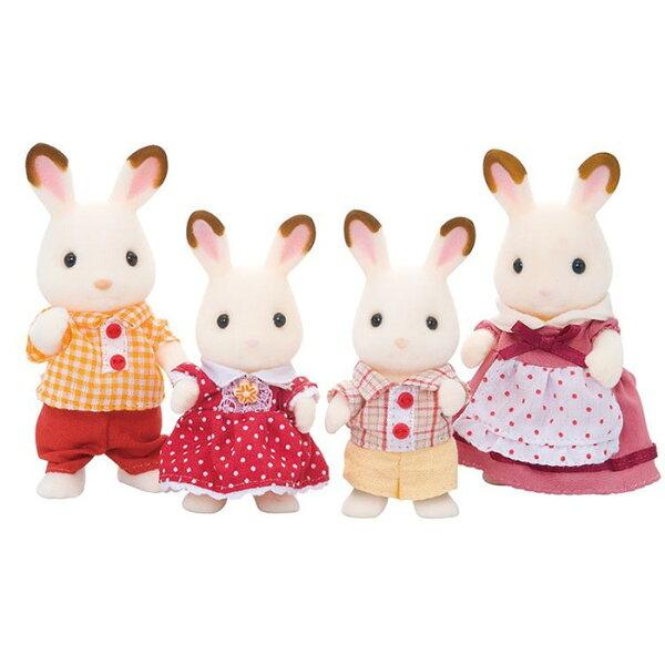 森林家族可可兔家庭組【鯊玩具ToyShark】