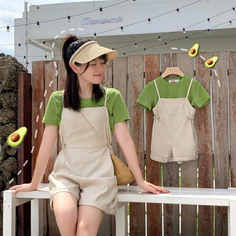 「樂天優選」親子裝一家三口四口夏季夏裝洋氣套裝夏天出行母子母女裝
