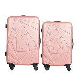 Mon Bagage 巴黎風情系列ABS輕硬殼 28寸 24寸 兩件組 旅行箱 行李箱