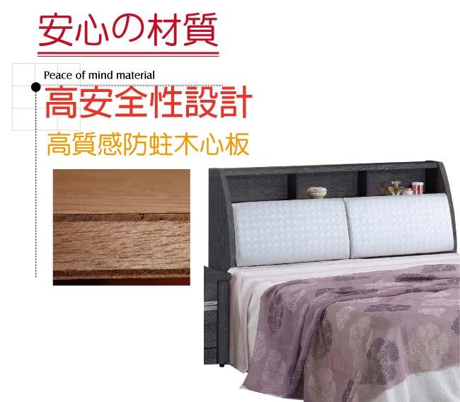【綠家居】路斯 時尚5尺皮革雙人床頭箱(二色可選+不含床底)