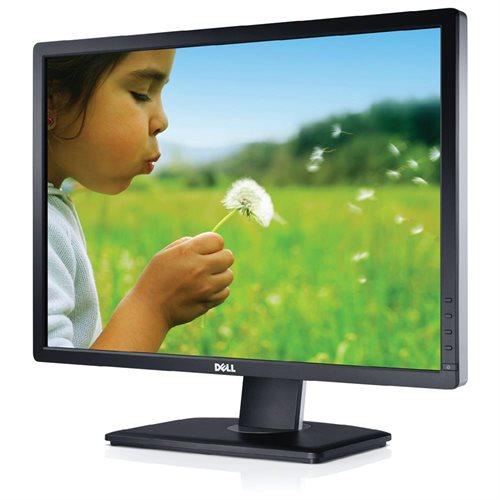 "Dell UltraSharp U2412M 24"" LED LCD Monitor - 16:10 - 8 ms - Adjustable Display Angle - 1920 x 1200 - 16.7 Million Colors - 300 Nit - 1,000:1 - WUXGA - DVI - VGA - DisplayPort - USB - 72 W - Black - ENERGY STAR, TCO '05, EPEAT Gold 0"