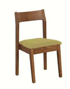 【石川家居】JF-483-8布蘭妮胡桃綠色布餐椅(單只)(不含其他商品)台北到高雄搭配車趟免運