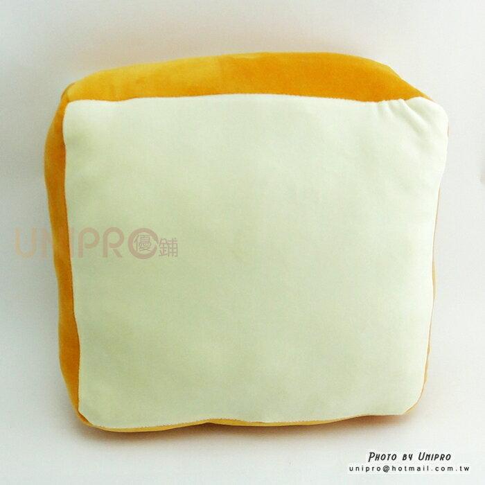【UNIPRO】創意 白吐司 吐司 絨毛玩偶 抱枕 靠枕 搞怪 KUSO 禮物 TOAST