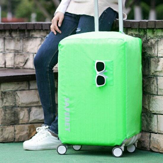 ♚MYCOLOR♚防水素面行李套(L號)彈力保護套加厚耐磨保護罩牛津布行李箱防塵【N368】
