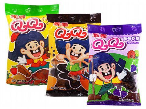乖乖 QQ軟糖(1包入) 綜合水果/可樂口味/葡萄口味 款式可選【小三美日】◢D140474