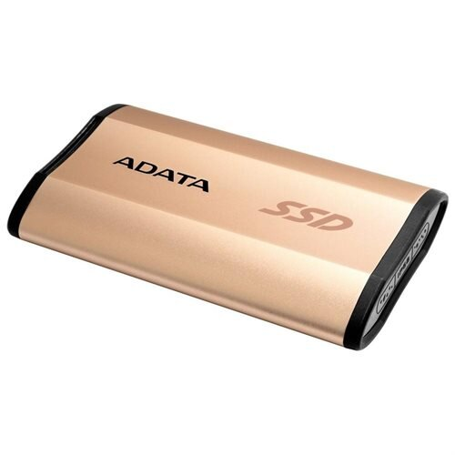 ADATA SE730 USB 3.1 Gen 2 Type-C External SSD 250GB Rose Gold (ASE730-250GU31-CGD) 1