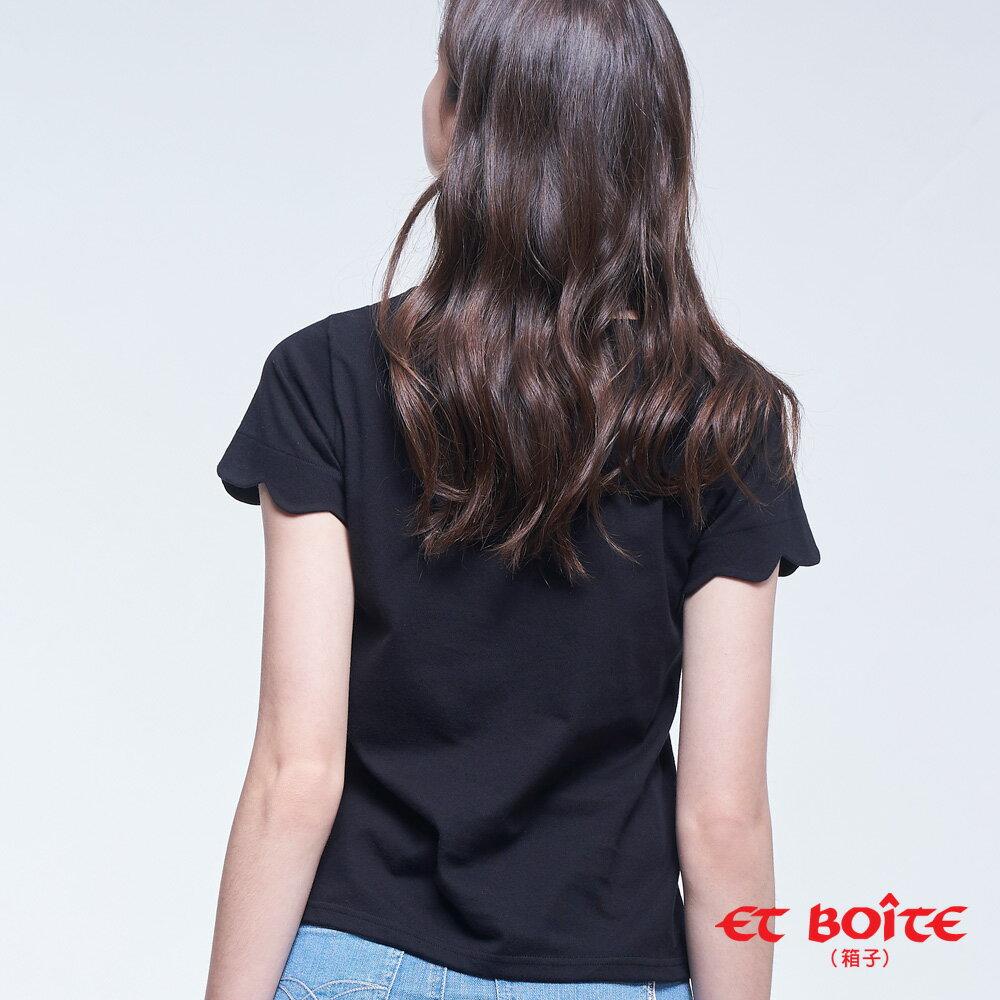 【2020春夏新品】Little Amour的誕生短TEE(黑) - BLUE WAY  ET BOiTE 箱子 2