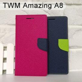 【MyStyle】撞色皮套TWMAmazingA8(5.5吋)