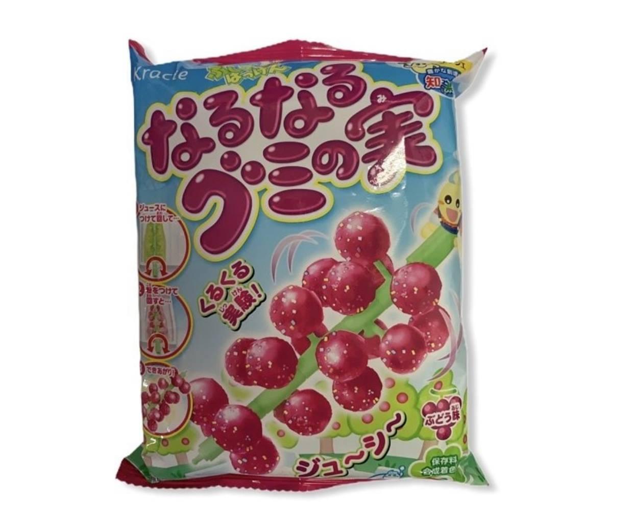 Kracie 袋裝食玩 創意DIY 葡萄風味小達人 15g