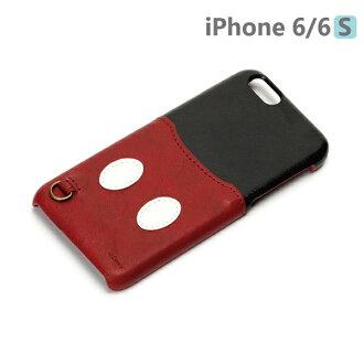 【日本 PGA-iJacket】UNISTYLE Disney 授權商品 iPhone 6/6s 專用手機殼 - Mickey 米老鼠