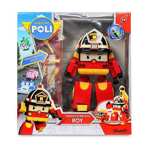 救援小英雄波力POLI10吋變形羅伊【鯊玩具ToyShark】