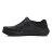 《2019新款》Shoestw【92U1SA03BK】PONY Enjoy 洞洞鞋 水鞋 海灘鞋 可踩跟 懶人拖 菱格紋 全黑 男女尺寸都有 2