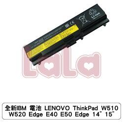 """全新IBM 電池 LENOVO ThinkPad W510 W520 Edge E40 E50 Edge 14"""" 15"""""""